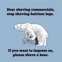 Dear shaving commercials