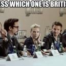 Find the British guy