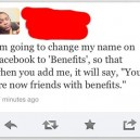 Funny Quote – Facebook Name Change