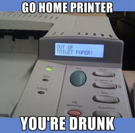 Go home printer