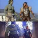 Hulk and Thor – 34 years later