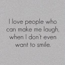 I love people who…