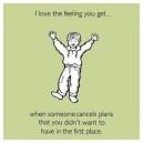 I love the feeling…