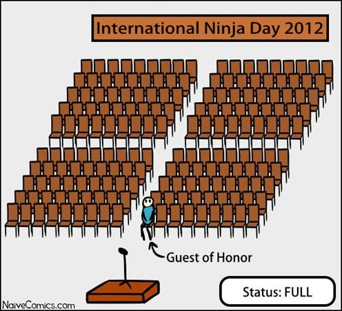 International Ninja Day