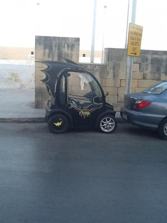 LOL – The Batmobile