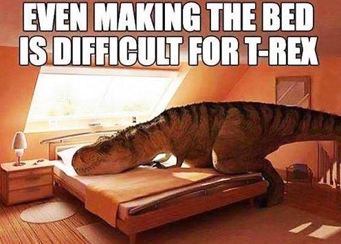 MEME – Poor T Rex