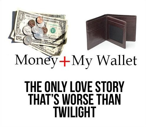 My wallet love story