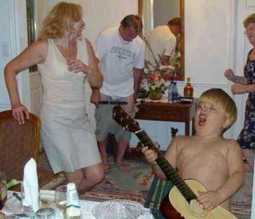 Partying like a Rock Star