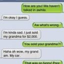SMS Sold My Grandma