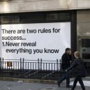 The two rules for success