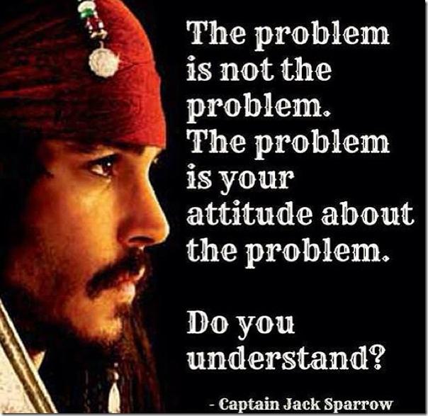 Words of Wisdom – Jack Sparrow