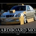 Cardboard mod