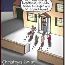 Christmas Eve at Simon Cowells place