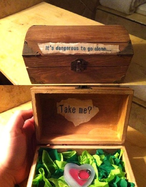Geeky Marriage Proposal