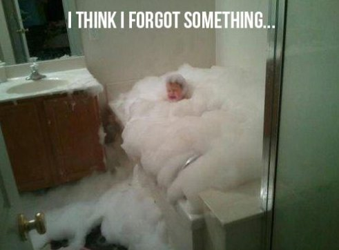 I may have forgotten something…