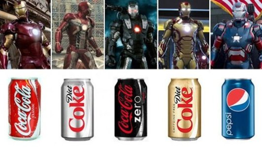 Iron Mans Soft Drinks
