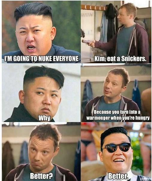 Kim Jong Un is mad