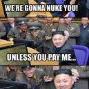 Korea Wants Money