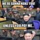 Korea Wants Money