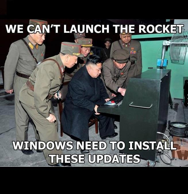Launch The Missiles!