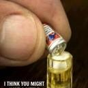Little drinking problem