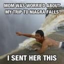 Mom was worried