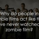 People in zombie films