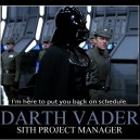 Project Manager Vader