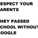 Respect your parents!