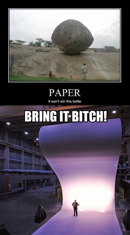 Rock vs. Paper