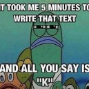 Rude Text
