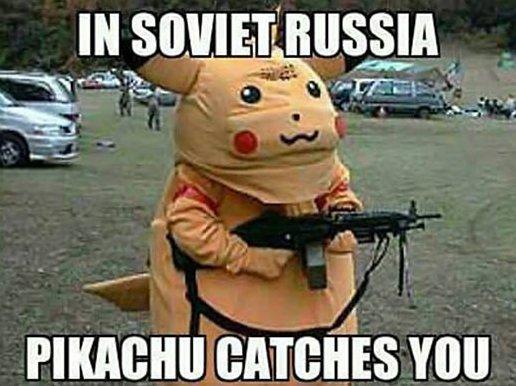 Russian Pikachu