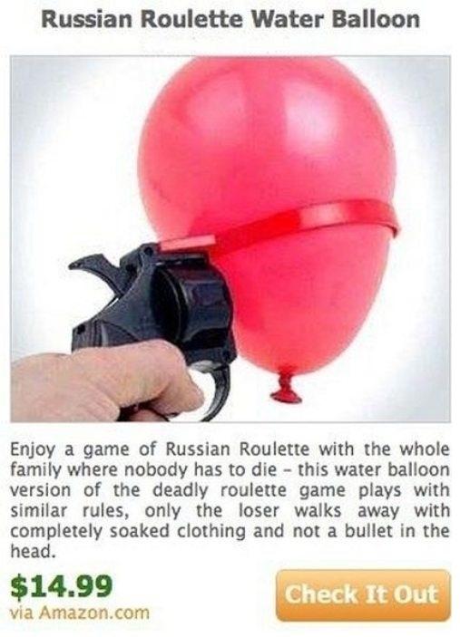 Russian Roulette Water Balloon