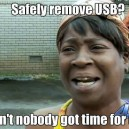 Safely Remove Usb