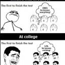 School vs. College