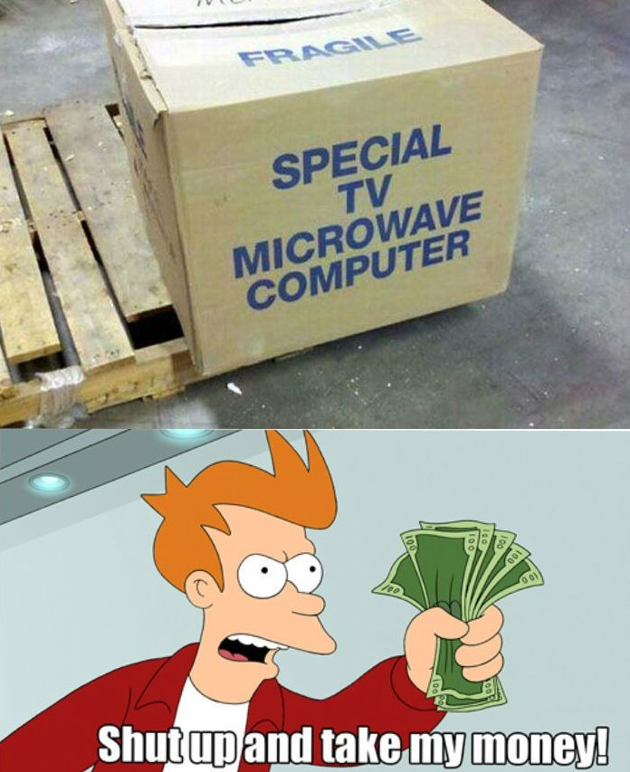 Special TV Microwave Computer