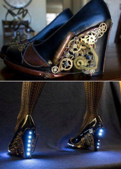 Steampunk Heels