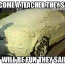 Teaching is fun!