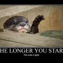 The longer you stare