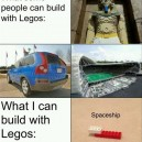 Things I can build with Legos