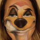Timon face painting