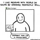 Trolling people on Skype