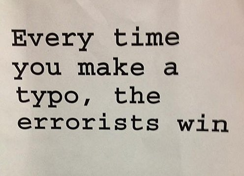 Typos