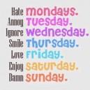 Weekday Breakdown