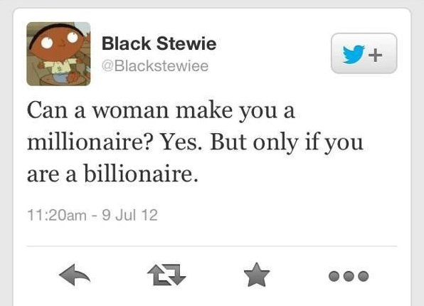 Can a woman make you a millionaire