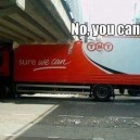 Coca Cola Truck Fail