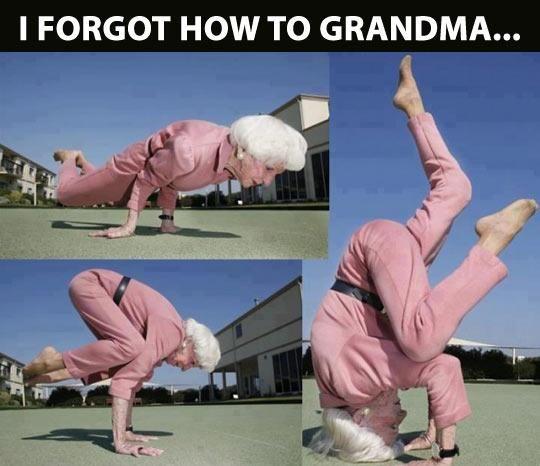 Elastic Grandma