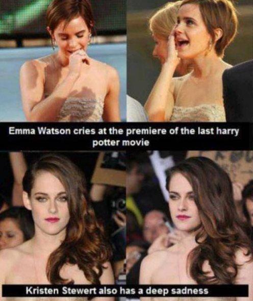 Emma Watson vs. Kristen Stewert