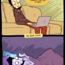 Every night…
