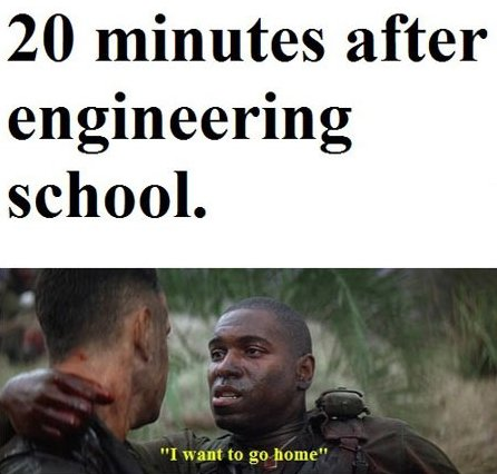 First day at engineering school